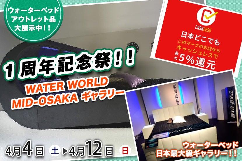 1周年記念祭!!   in  WATER WORLD MID-OSAKA  ギャラリー