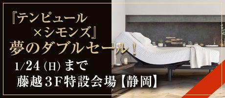 新年!初夢セール:『テンピュール×シモンズ』夢のダブルセール!