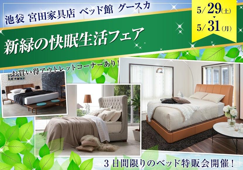 新緑の快眠生活フェア