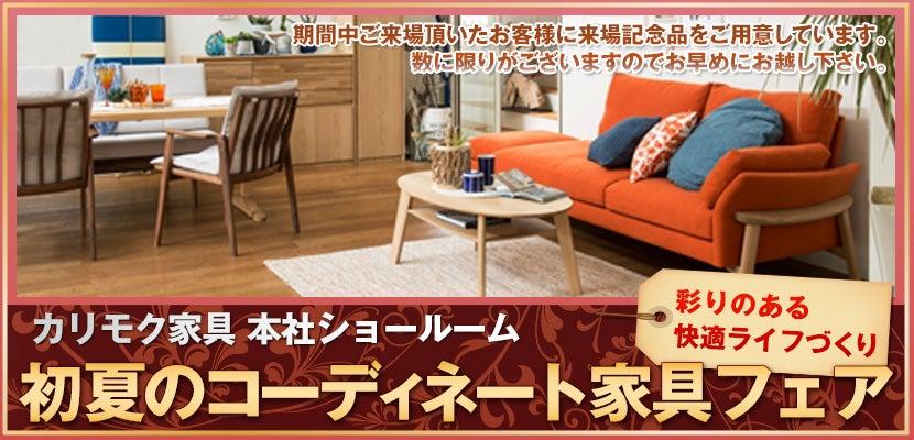 初夏のコーディネート家具フェア