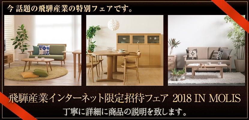 飛騨産業インターネット限定招待フェア 2018 IN MOLIS