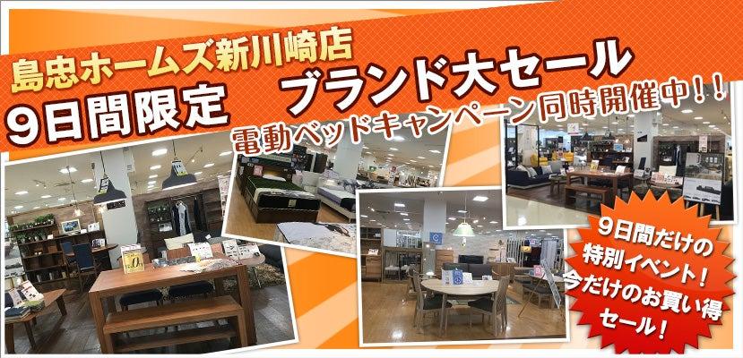 島忠ホームズ新川崎店 9日間限定 ブランド大セール