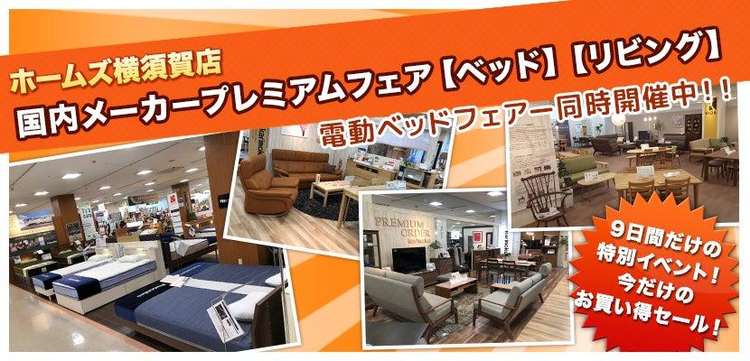 ホームズ横須賀店 国内メーカープレミアムフェア【ベッド】【リビング】