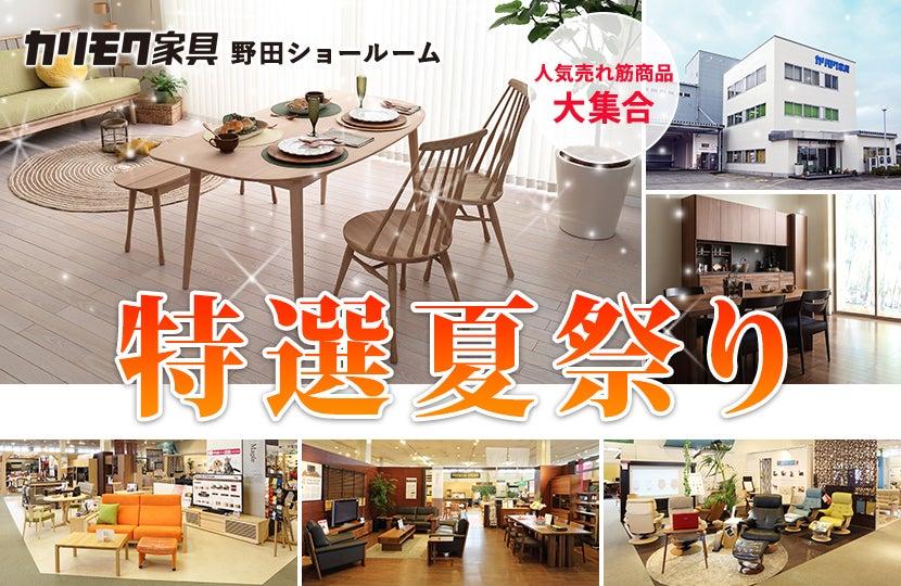 カリモク家具 特選夏祭りin野田
