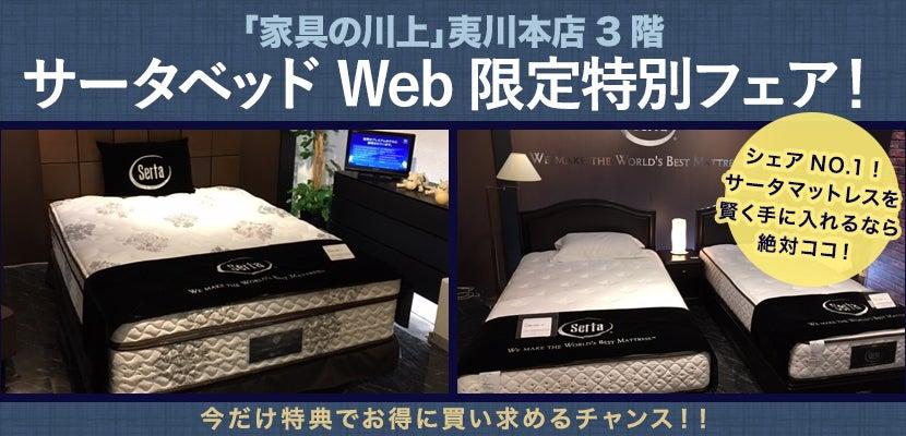 サータベッドWeb限定特別フェア!